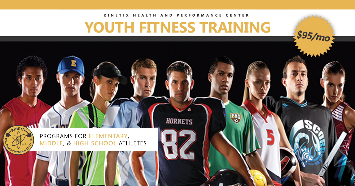 Speed and Agility Youth Fitness Classes | Kinetix Health